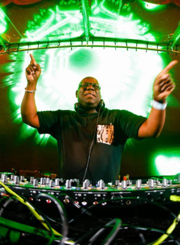 Carl Cox drum 'n' bass