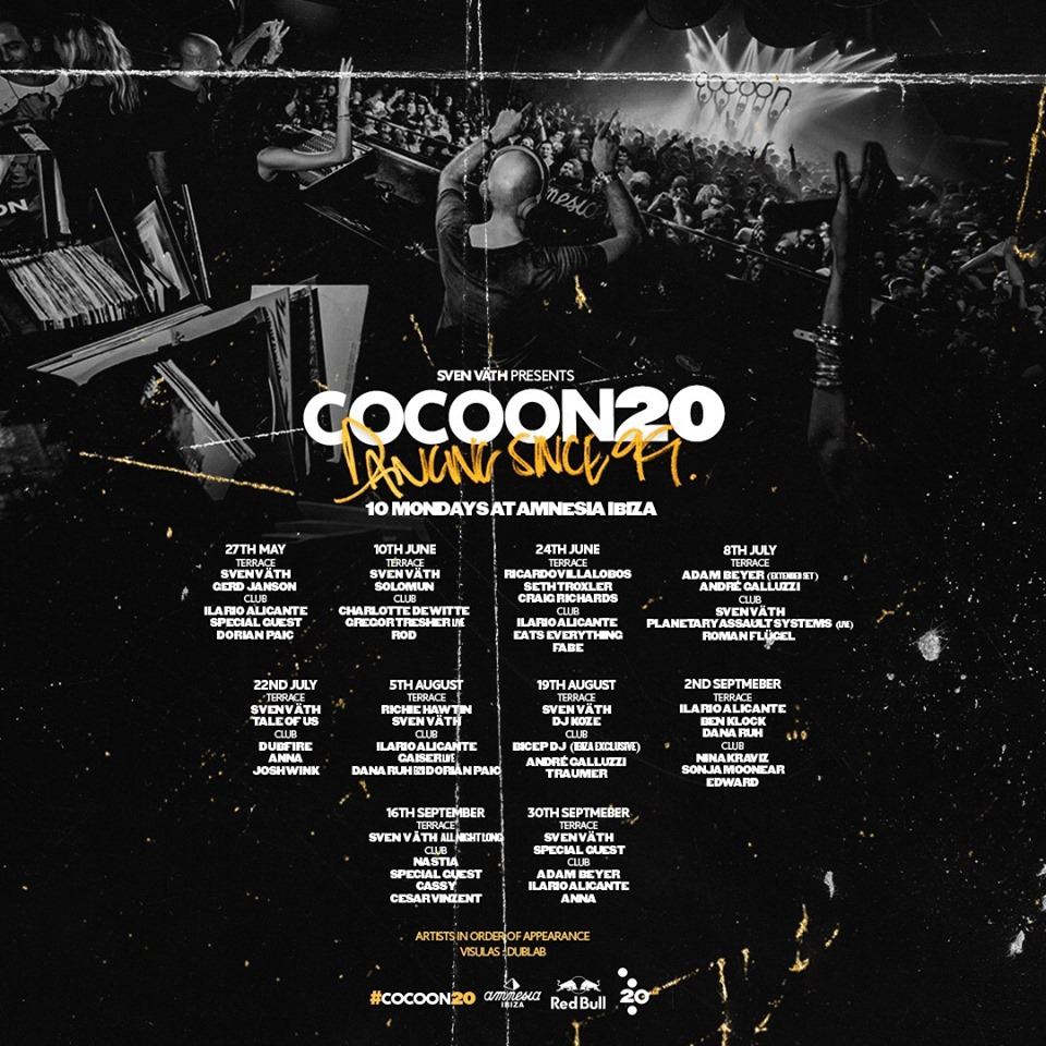 Cocoon 2019 Line Up