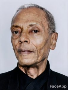 FaceApp Jeff Mills