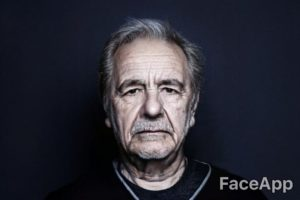 FaceApp Laurent Garnier