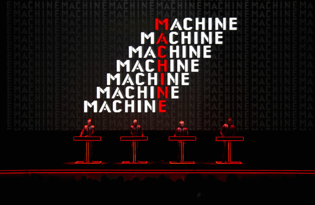 Kraftwerk e The Electronic Revolution