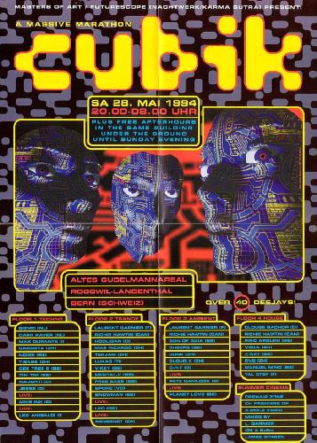 Cubik 94 - rave degli anni 90