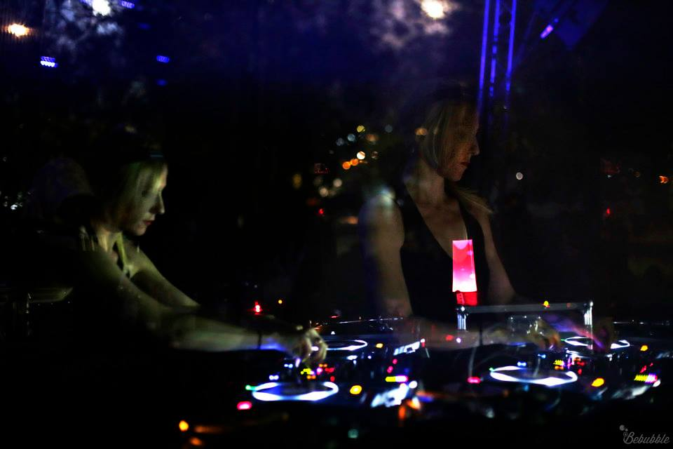 ellen allien bebubble photo