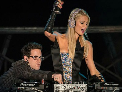 paris hilton dj fail parkett