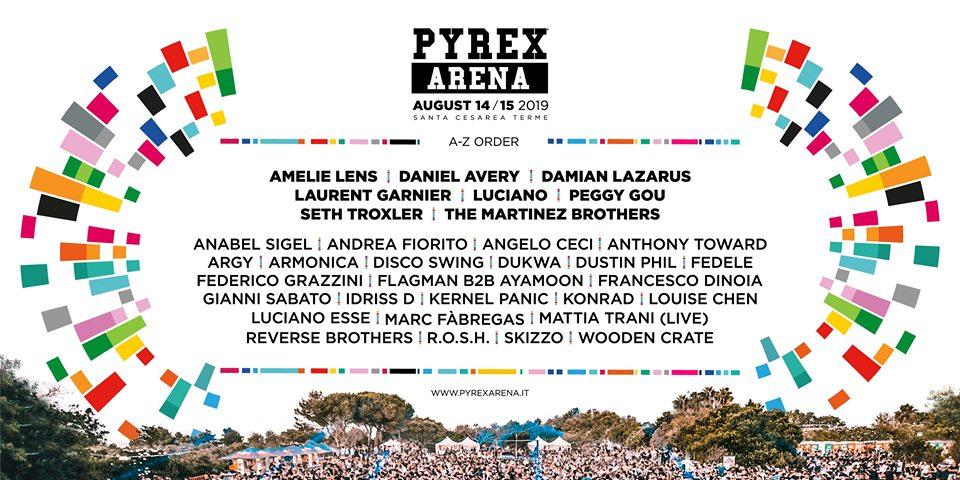pyrex arena festival 2019